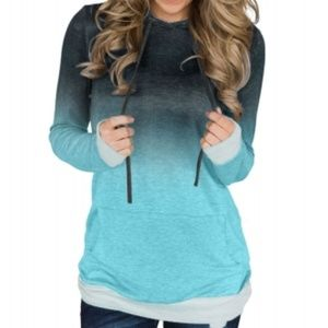 Ombre hoodie!